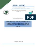 Manual de Normas Para Dibujo Topografico e Hidrualico Para Construccion de Acueductos Rurales