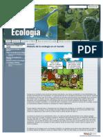 Historia de La Ecologia en El Mundo