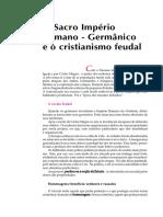 12. O Sacro Império Romano-Germânico e o Cristianismo Feudal