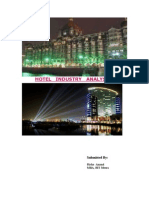 Hotel IndustryAnalysis