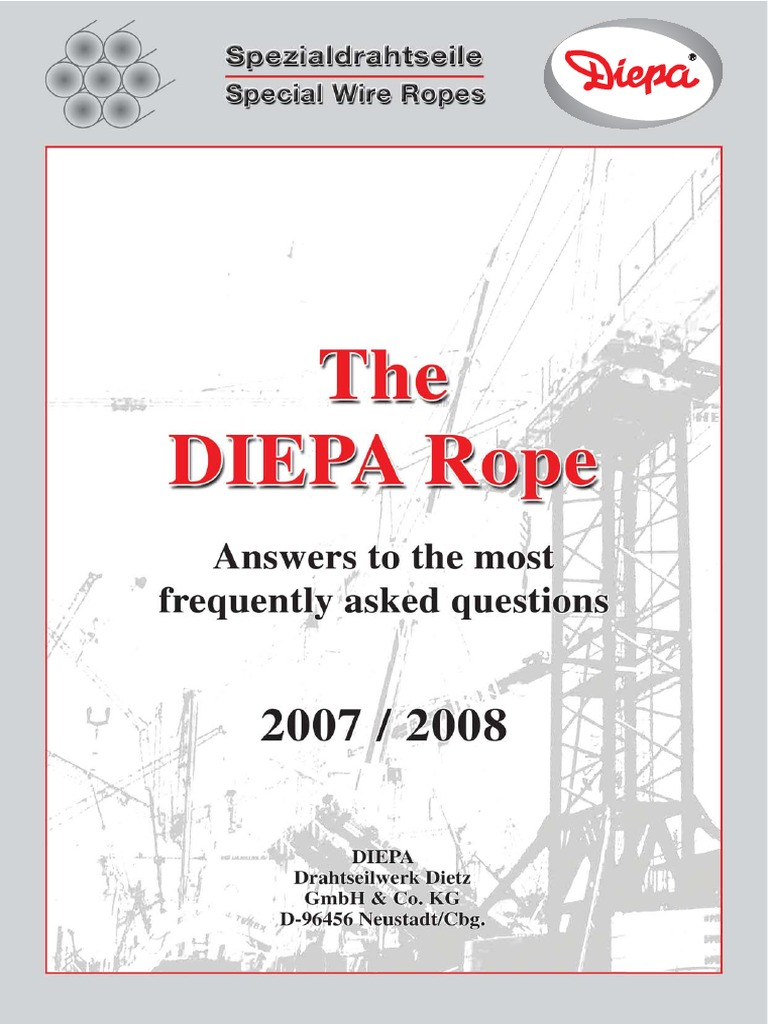 DIEPA Answers | Rope | Wire
