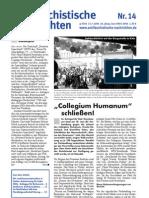 antifaschistische nachrichten 2004 #14
