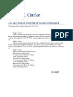 Arthur C. Clarke - Cea Mai Lunga Poveste Sf Scrisa Vreodata