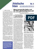 antifaschistische nachrichten 2005 #05