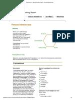 myplan interest inventory report