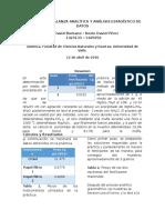 Informe 2 Laboratorio Analitica