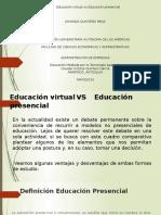Educación virtual vs Educación presencial
