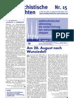 antifaschistische nachrichten 2005 #15