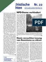 antifaschistische nachrichten 2005 #22