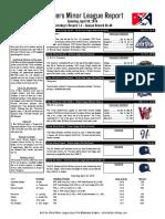 4.30.16 Minor League Report