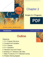 Chapter 2 - Simple C++ Programs