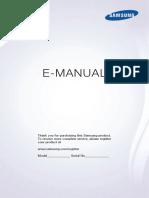 Manuel Utilisateur UE55JU6570