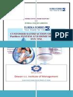 Siddhartha Acharya, PGDM, 3rd Sem(Summer Project)