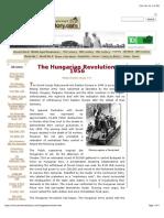 the hungarian revolution 1956