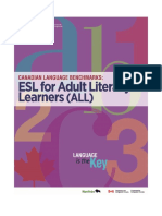CLB Adult Literacy Learners E-Version 2015