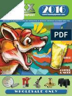 Foxx 2016 Beverage