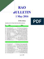 Bulletin 160501 (HTML)