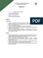 1 Temario Finanzas II