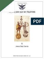 Cómo y Para Qué Ser Alquimista LIBRO COMPLETO
