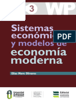 Sistemas Económicos y Modelos de Economía Moderna.