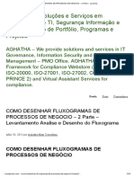 Como Desenhar Fluxogramas de Processos de Negocio - 2 Parte - Levantamento Analise e Desenho Do Fluxograma _ Aghatha