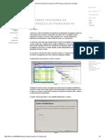Informes Programa de Progresos en P6 Primavera _ Diez Seis Consulting