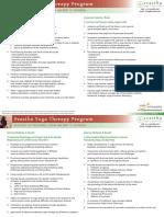 SvasthaYogaTherapyProgram Contents 1