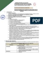 CAS 049-2016 Gestor Local IIEE Polidocentes Completas
