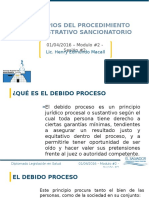 1principios del procedimiento administrativo sancionatorio 2016
