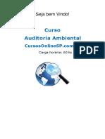 Curso Auditoria Ambiental Sp 86882