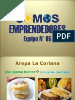 Publicidad de La Coriana