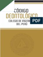 Codigo Deontologico Gestion 2013 -2015