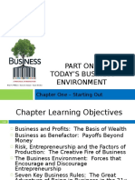 Chap 1. Introduction and Business Environment
