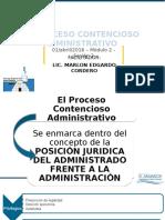 2el proceso contencioso administrativo 2016