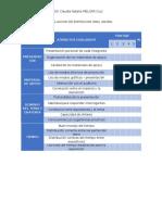 Actividad II . Modulo IV- Evaluacion de Exposicion Oral Grupal