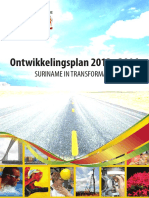 Suriname National Development Plan 2012-2016
