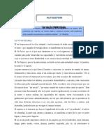_información Autoestima Condiciones