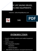 Import of Life Saving Drugs &; Equipments