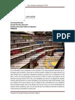 Comunicado Público Consejería Facultad de Filosofía y Educación sobre Paro Reflexivo PUCV