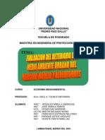 Evaluacion Del Deterioro Ambiental Mercado Modelo Chiclayo