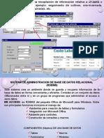 INTRODUCCION BASE DE DATOS ACCESS