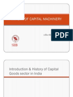 Import of capital machinery