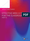 Effective Web 2.0 Tools for the Classroom