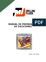 Manual de Preparacion de Soluciones