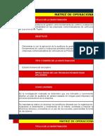 Ejemplo de Operacionalizacion de Antecedentes de Investigaciòn