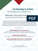 integrative nursing in action flyer