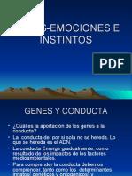Clase6 Genes Emocioneseinstintos