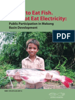I Want To Eat Fish. I Cannot Eat Electricity
