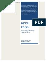 NEDU Form