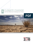 Final MDG Climate Change Brochure